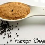 Paruppu Thogayal