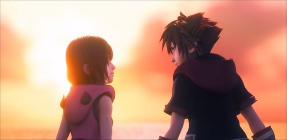 Kingdom Hearts 3 - Sora and Kairi