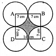 RD Sharma Class 10 Solutions Chapter 13 Areas Related to Circles Ex 13.4 - 32a