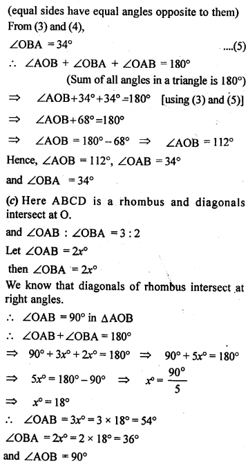 ML Aggarwal Class 9 Solutions for ICSE Maths Chapter 13 Rectilinear Figures  ex 7c