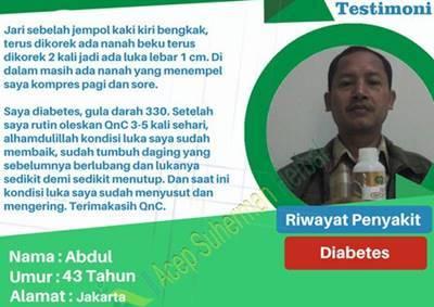 luka diabetes sembuh dengan cepat