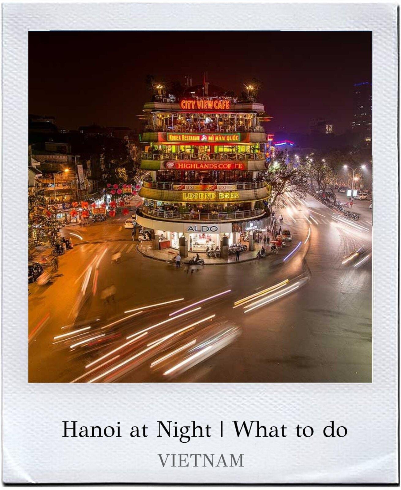 hanoi at night cover