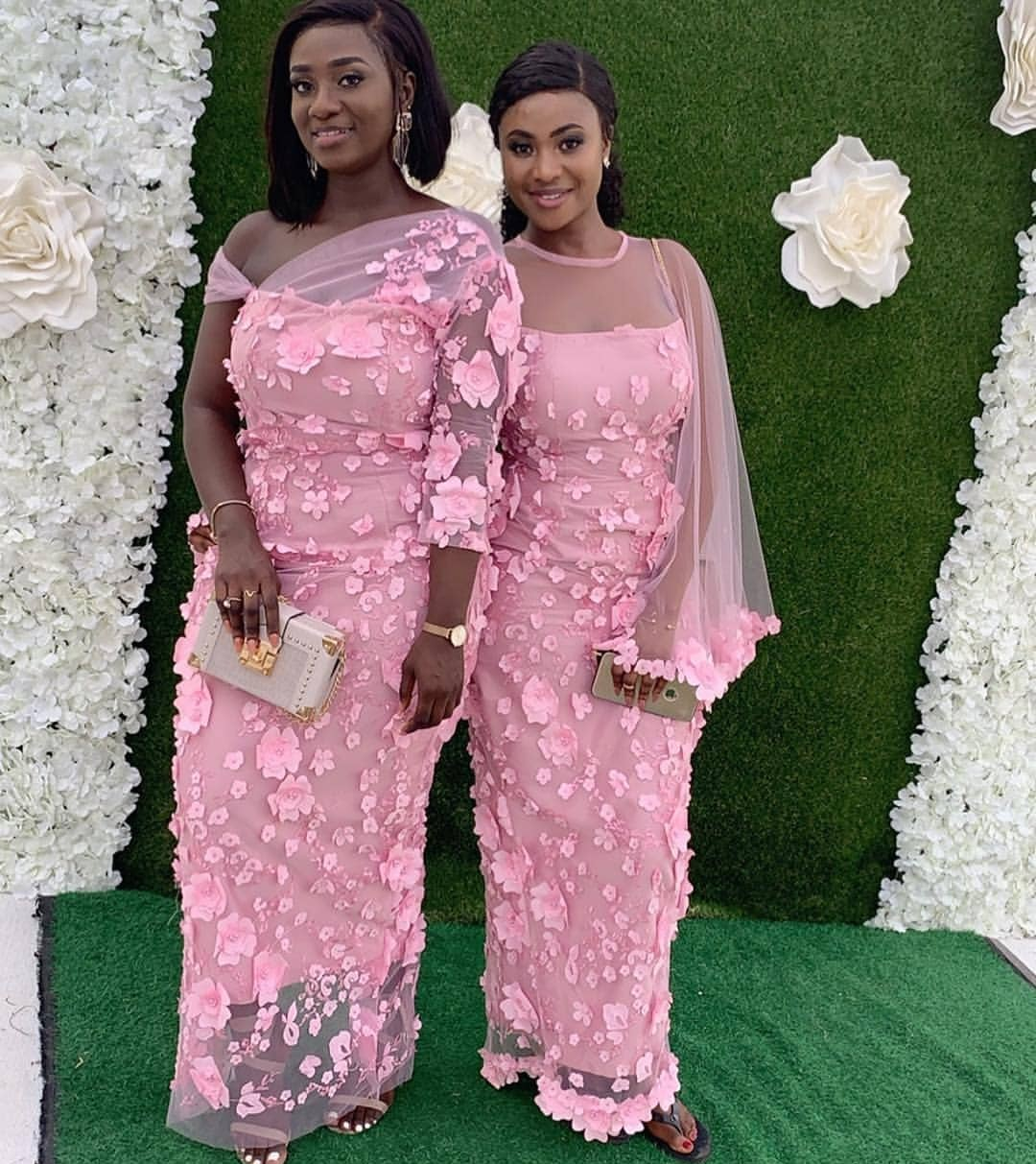GORGEOUS AND FRESH PINK ASO EBI DRESS FOR YOUR EVENTS    1