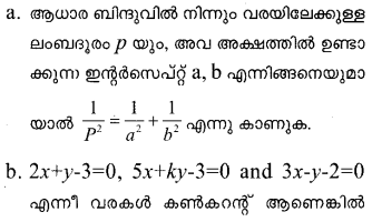 Plus One Maths Model Question Papers Paper 1Q15.1