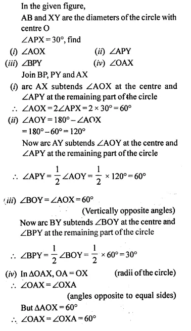Selina Concise Mathematics Class 10 ICSE Solutions Chapterwise Revision Exercise 80A