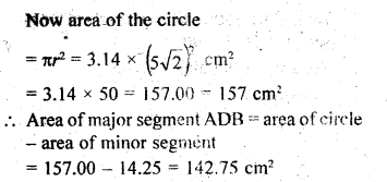 RD Sharma Class 10 Solutions Chapter 13 Areas Related to Circles Ex 13.3 - 4aa