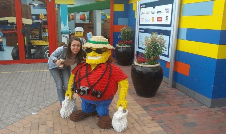 La Legoland, Billund, Danemarca