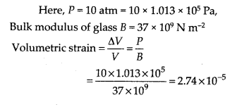 NCERT Solutions for Class 11 Physics Chapter 9 Mechanical properties of solid 13