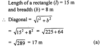 ML Aggarwal Class 9 Solutions for ICSE Maths Chapter 12 Pythagoras Theorem     mcq2