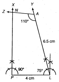 NCERT Solutions for Class 8 Maths Chapter 4 Practical Geometry 16