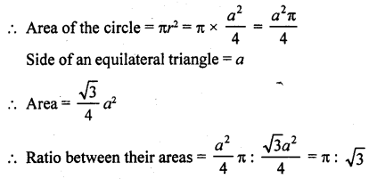 RD Sharma Class 10 Solutions Chapter 13 Areas Related to Circles VSAQS - 1