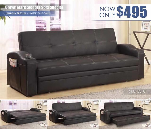 Crown Mark Sleeper Sofa January Special_5310