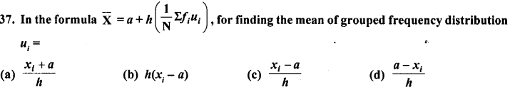RD Sharma Class 10 Solutions Chapter 15 Statistics MCQS 37