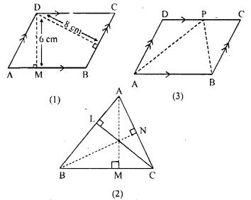 ML Aggarwal Class 9 Solutions for ICSE Maths Chapter 14 Theorems on Area    15