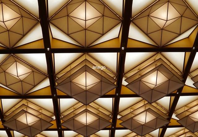 京都迎賓館 天井