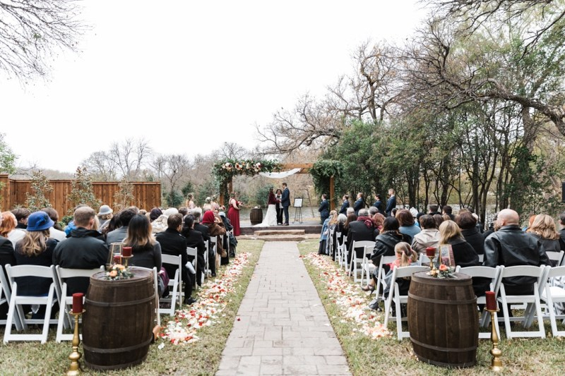 Cross Creek Ranch TX Wedding