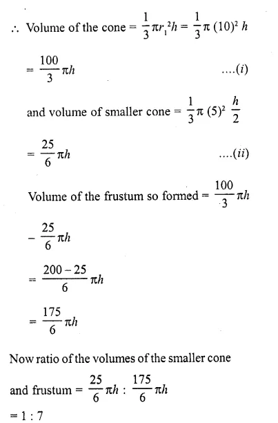 RD Sharma Class 10 Solutions Chapter 14 Surface Areas and Volumes  RV 63a