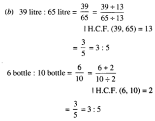 NCERT Solutions for Class 6 Maths Chapter 12 Ratio and Proportion 56