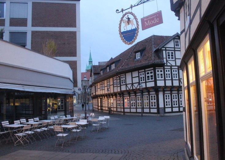Street in Braunschweig, Germany