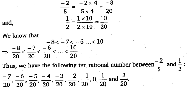 NCERT Solutions for Class 8 Maths Chapter 1 Rational Numbers 16