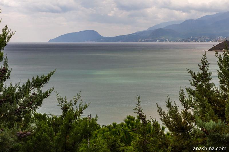 Вид в сторону Аю-Дага, Малореченское, Крым