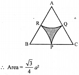 RD Sharma Class 10 Solutions Chapter 13 Areas Related to Circles Ex 13.4 - 50a