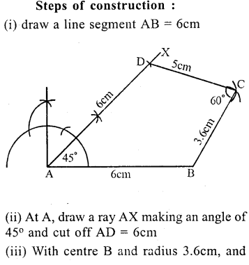 ML Aggarwal Class 9 Solutions for ICSE Maths Chapter 13 Rectilinear Figures  ex 2  1