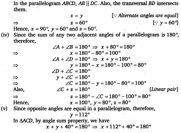 NCERT Solutions for Class 8 Maths Chapter 3 Understanding Quadrilaterals 18
