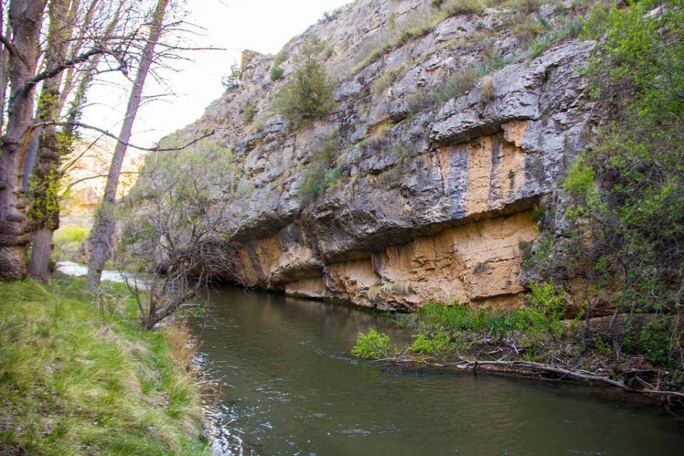 sendero río Guadalaviar Hoz de Albarracin Teruel 08
