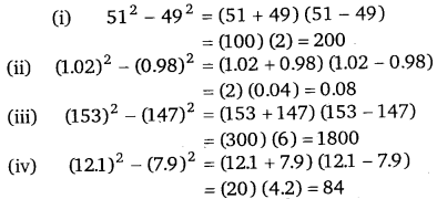 NCERT Solutions for Class 8 Maths Chapter 9 Algebraic Expressions and Identities 34