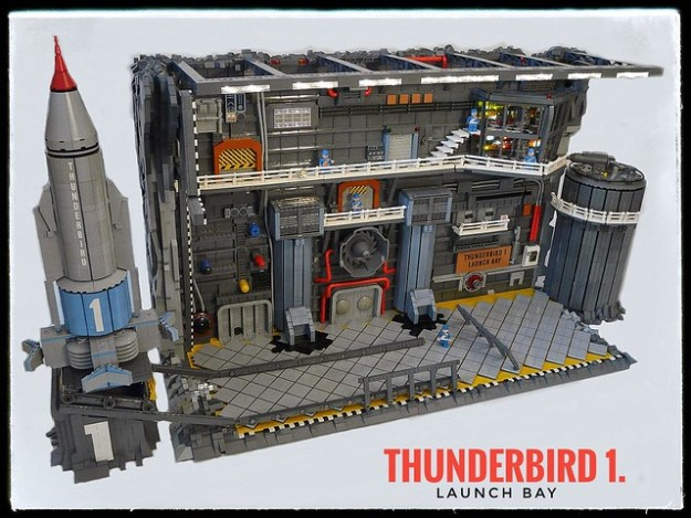 Thunderbird 1. Launch Bay