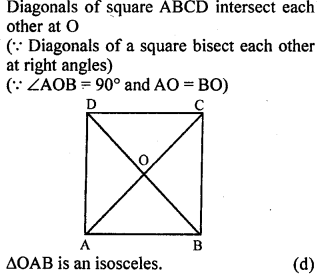 ML Aggarwal Class 9 Solutions for ICSE Maths Chapter 13 Rectilinear Figures  mcq  7