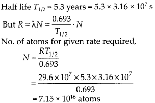 NCERT Solutions for Class 12 Physics Chapter 13 Nucle 14