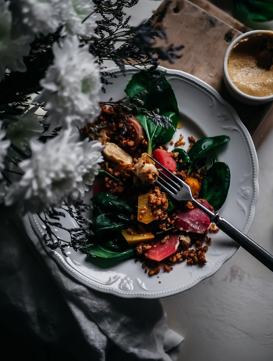 tempeh salaatti