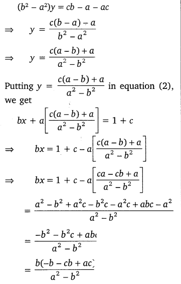 NCERT Solutions for Class 10 Maths Chapter 3 Pair of Linear Equations in Two Variables e7 7c