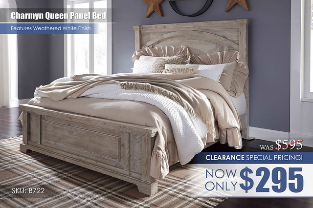 Charmyn Queen Panel Bed_B722