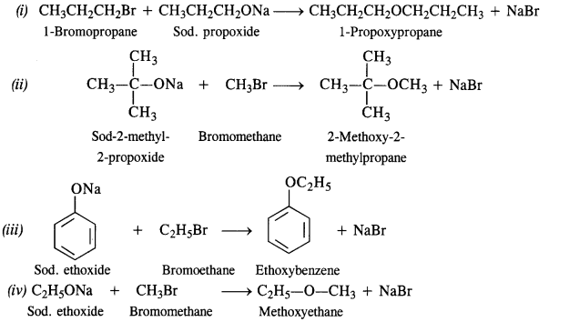 NCERT Solutions for Class 12 Chemistry Chapter 11 Alcohols, Phenols and Ehers ex 24
