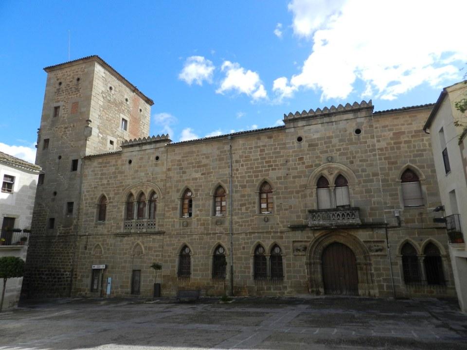 Palacio de Monroy o Casa de las Dos Torres Plasencia Caceres
