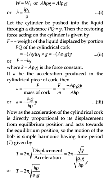 NCERT Solutions for Class 11 Physics Chapter 14 Oscillation 21