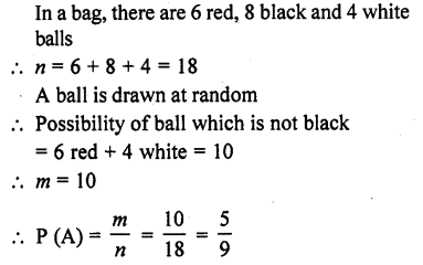 RD Sharma Class 10 Solutions Chapter 16 Probability Ex 16.1 11