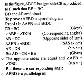 ML Aggarwal Class 9 Solutions for ICSE Maths Chapter 13 Rectilinear Figures  ct 1a