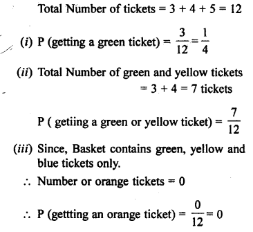 Selina Concise Mathematics class 7 ICSE Solutions - Probability-4b