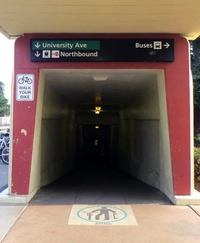 Dismount Zone