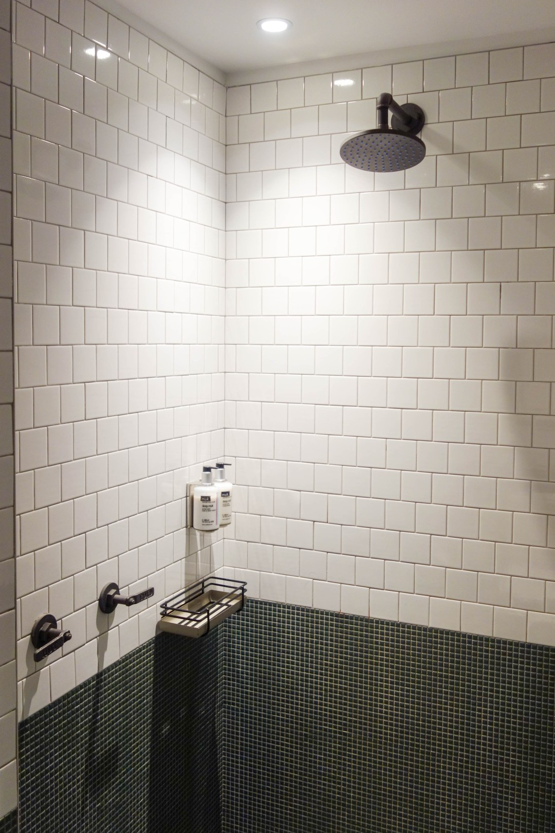 Shower at the Moxy NYC Times Square