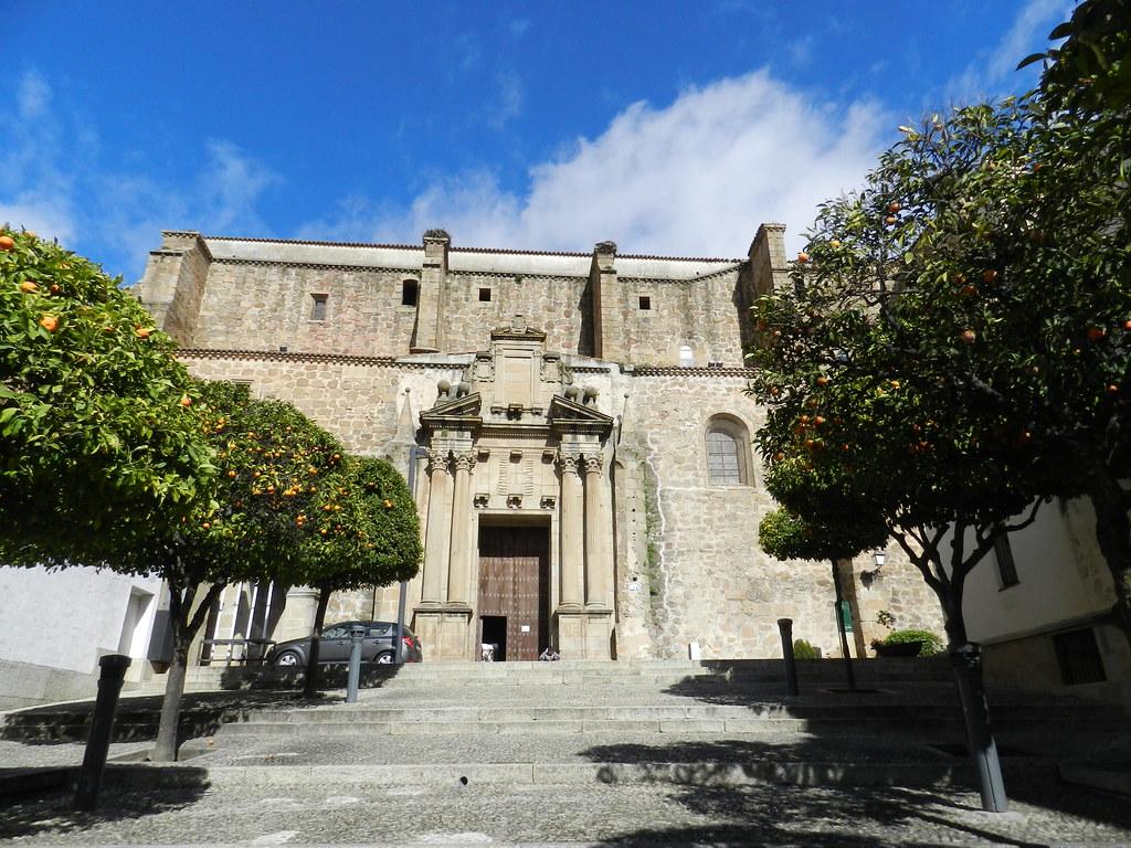 Iglesia Convento de San Vicente Ferrer Parador de Plasencia Caceres