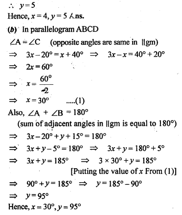 ML Aggarwal Class 9 Solutions for ICSE Maths Chapter 13 Rectilinear Figures  ex 5b