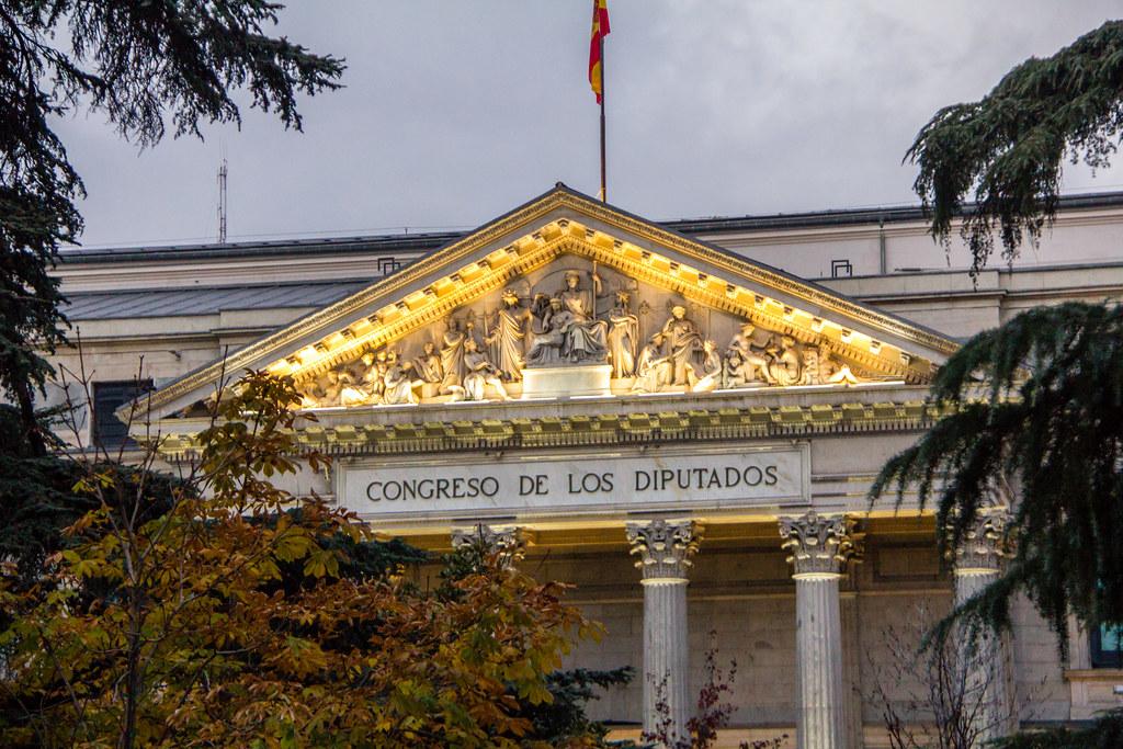 Palacio de las Cortes de España Madrid 02