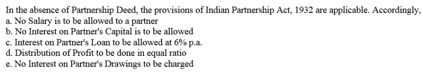 TS Grewal Accountancy Class 12 Solutions Chapter 1 Accounting for Partnership Firms - Fundamentals Q1