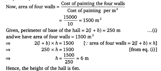 NCERT Solutions for Class 9 Maths Chapter 13 Surface Area and Volumes