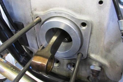 Cylinder Bore Plug Installed
